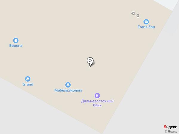 Гранд на карте Владивостока