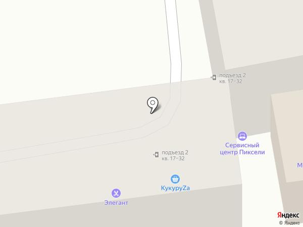 Pixels на карте Уссурийска