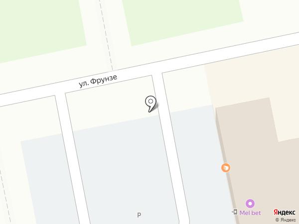 Магазин фастфудной продукции на карте Уссурийска