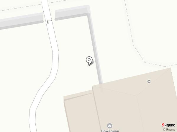 Пожарная охрана на карте Уссурийска