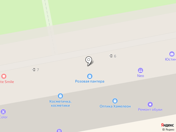 Приморская Мебель на карте Уссурийска