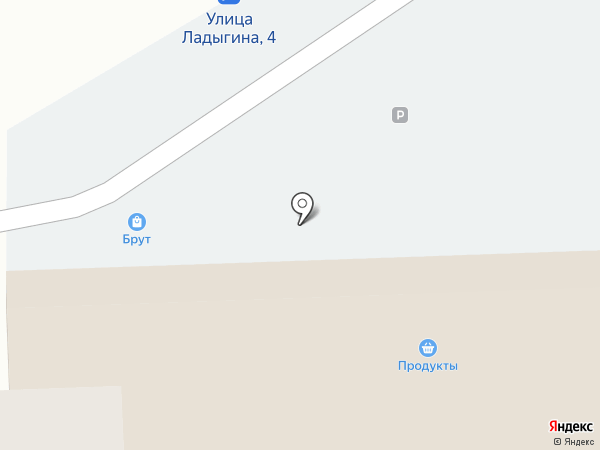 Brut на карте Владивостока