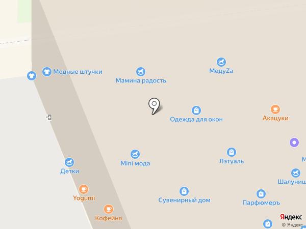 Interpolo на карте Уссурийска