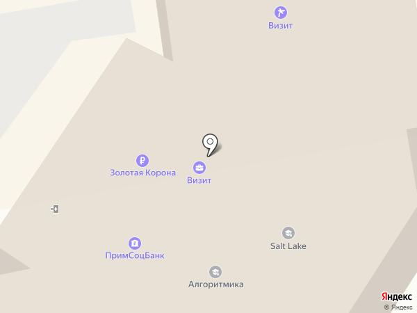 Визит на карте Уссурийска