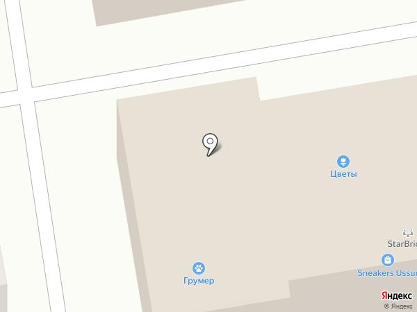 Жан на карте Уссурийска