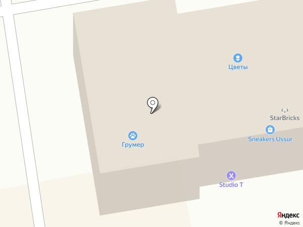У Лешего на карте Уссурийска