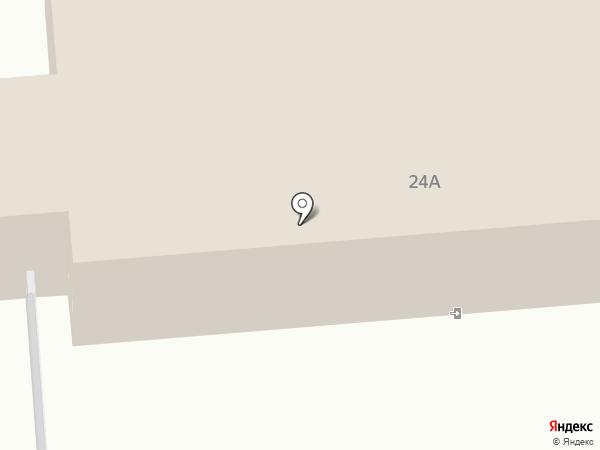 Уссурийский гарнизонный военный суд на карте Уссурийска