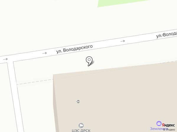 Общество садоводов на карте Уссурийска
