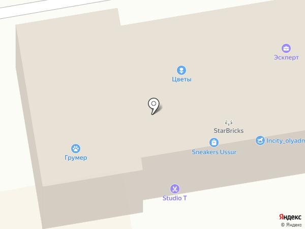 Союз Ломбардов на карте Уссурийска