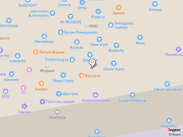 Green Bunny на карте Уссурийска