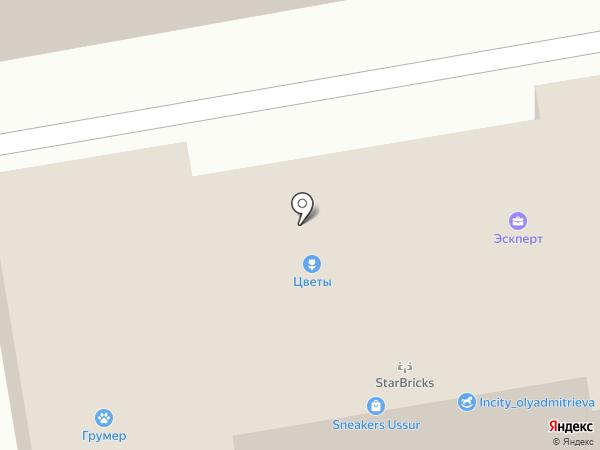 Уютный дом на карте Уссурийска
