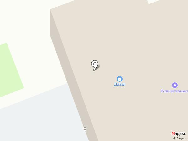 Рэм-Уссури на карте Уссурийска