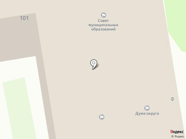 Нормативно-правовое управление на карте Уссурийска
