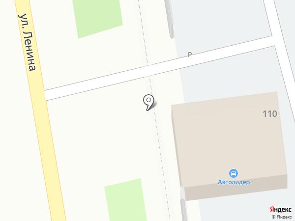 Ореол на карте Уссурийска