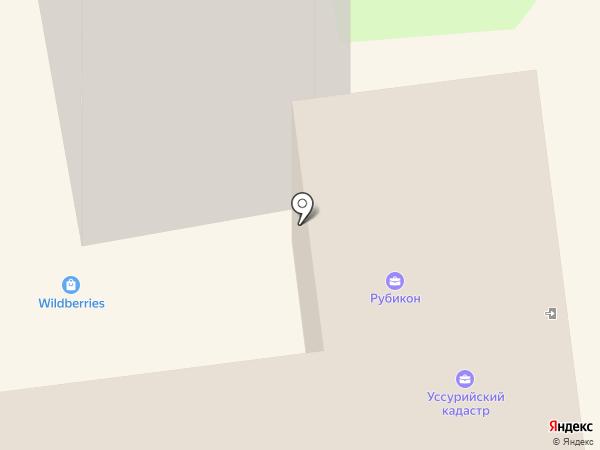 Аптека №1, МУП на карте Уссурийска