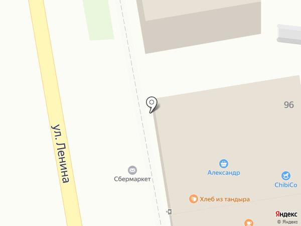 Топотун на карте Уссурийска