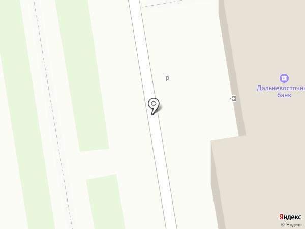 Дальневосточный банк, ПАО на карте Уссурийска