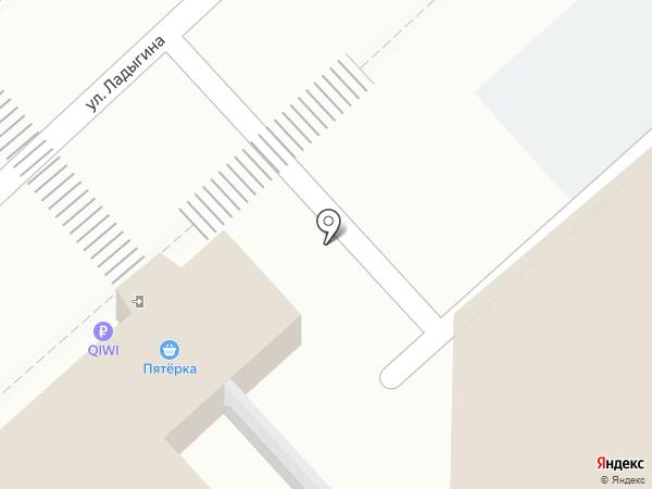 Пятерка на карте Владивостока