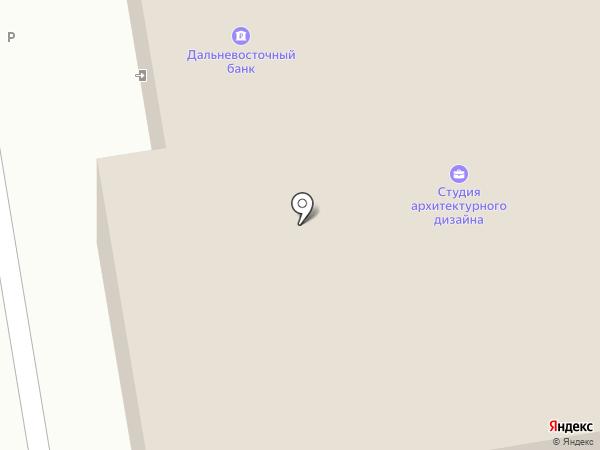 Холст на карте Уссурийска