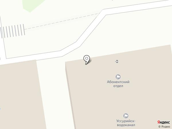Уссурийск-Водоканал на карте Уссурийска