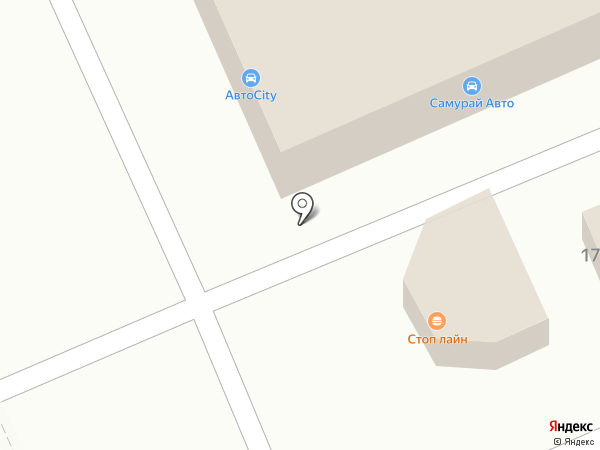 Стоп лайн на карте Уссурийска