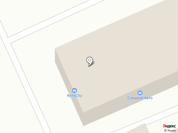 Самурай Авто на карте Уссурийска