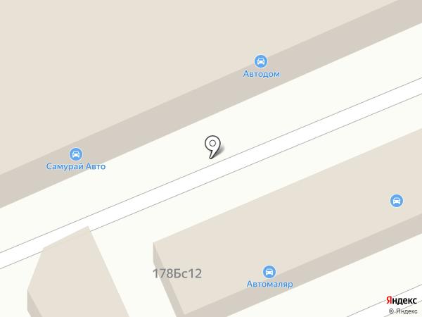 Запчасти для автомобилей на карте Уссурийска