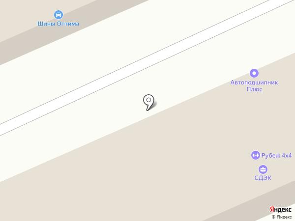Крузак на карте Уссурийска
