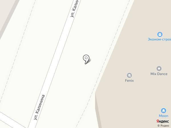 Уссури-сити на карте Уссурийска
