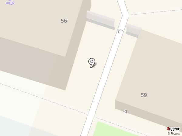 Столовая №1 на карте Уссурийска