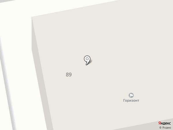Горизонт на карте Уссурийска