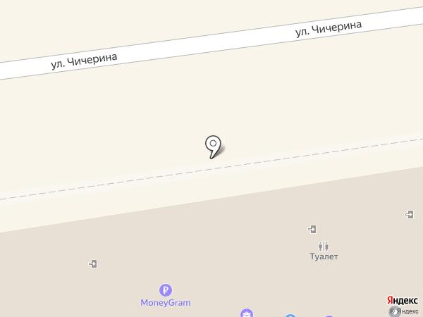 Общественный туалет на карте Уссурийска