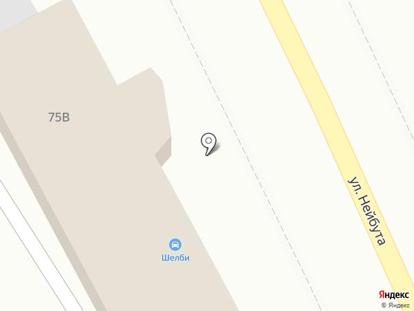 Грифон на карте Владивостока