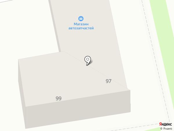 Три нити на карте Уссурийска