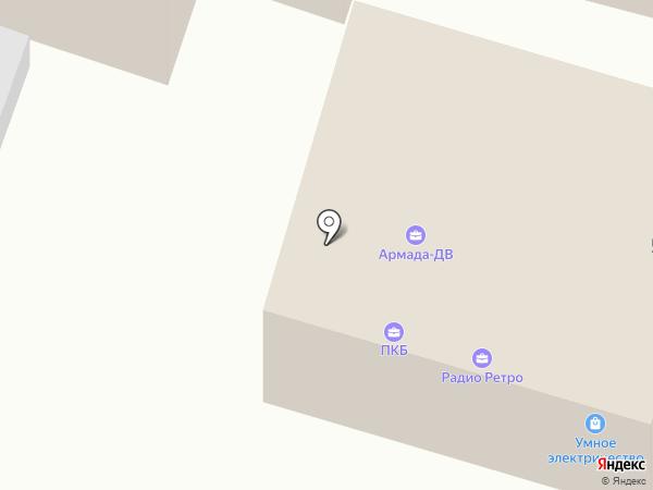 Первое коллекторское бюро на карте Уссурийска