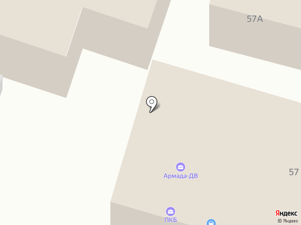 Спасские ворота-М, ЗАО на карте Уссурийска