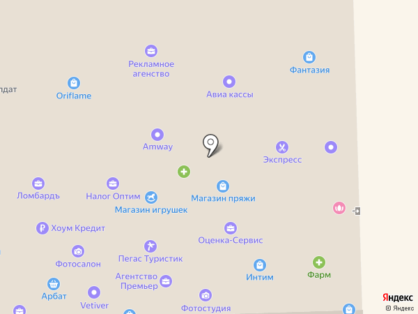 Приставкин на карте Уссурийска