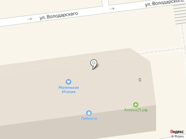 Сантех Склад на карте Уссурийска