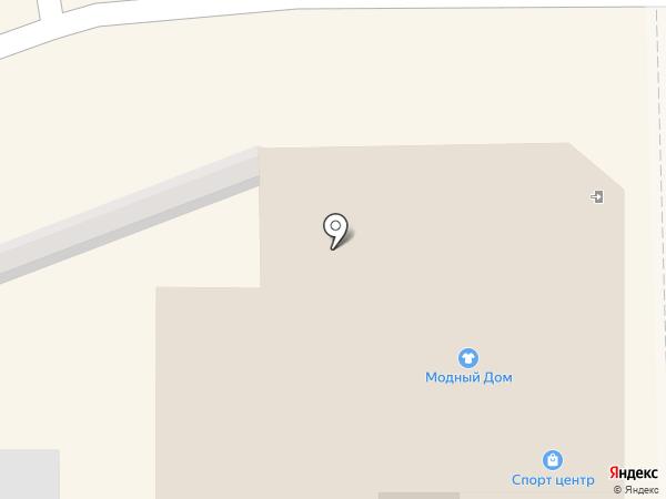 Спорт-центр на карте Уссурийска
