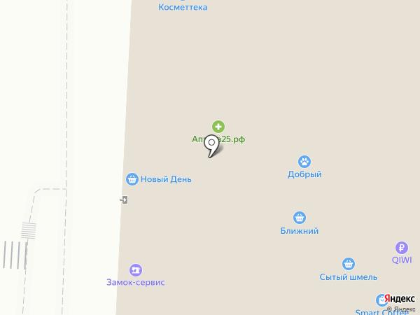 Аптека экономных людей на карте Владивостока