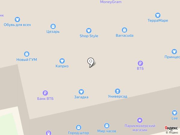 Террамаре на карте Уссурийска