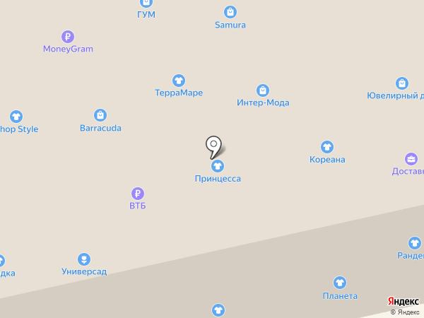 Befree на карте Уссурийска