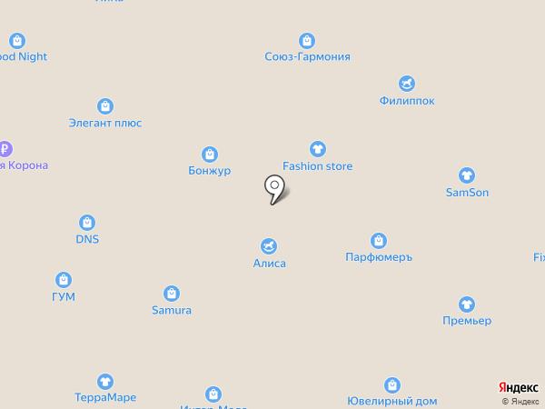 Mods Lux на карте Уссурийска