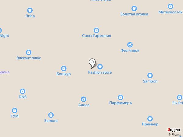 Marmalade на карте Уссурийска