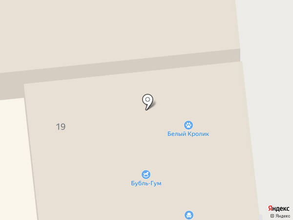 Бубль Гум на карте Уссурийска