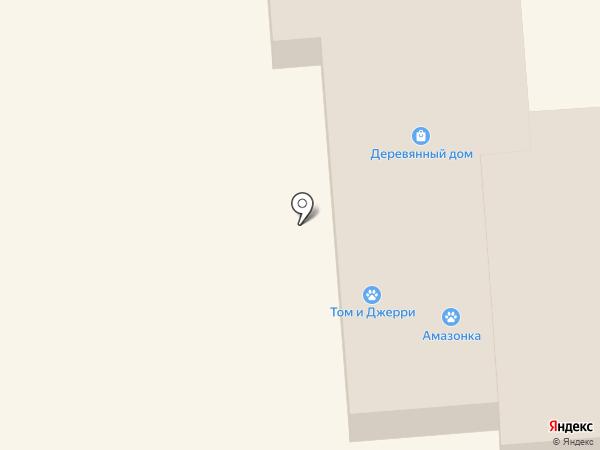 Деревянный дом на карте Уссурийска