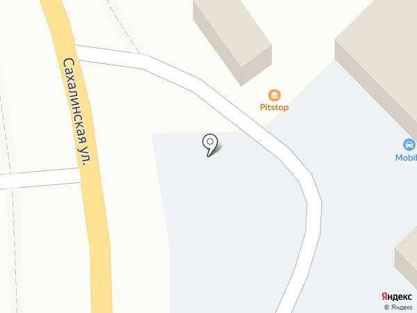ПитСтоп на Сахалинской на карте Владивостока
