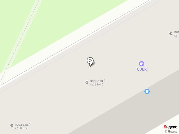 Янтарная бочка на карте Уссурийска
