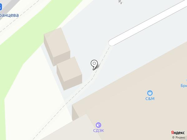 Дашенька на карте Уссурийска