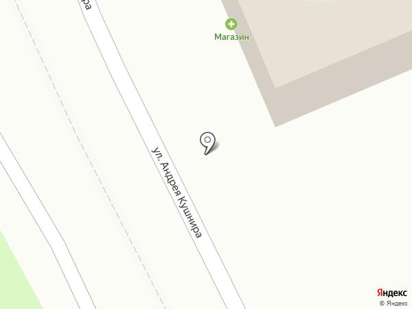 Вертикаль на карте Уссурийска
